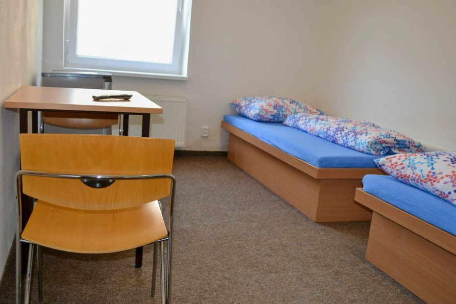 Ubytovna Frýdečanka 2-lůžkový pokoj ve Frýdku-Místku
