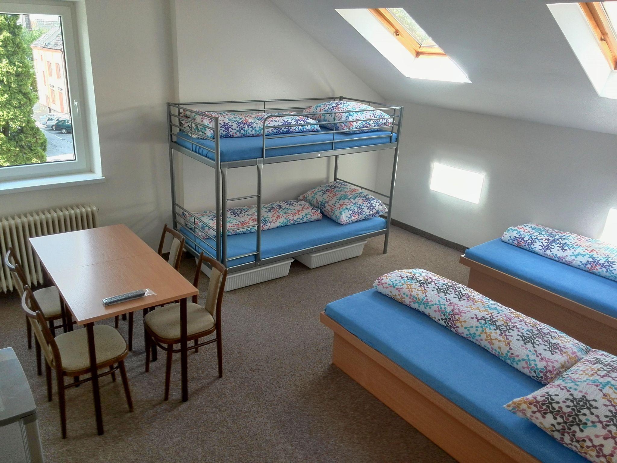 Ubytovna Frýdečanka 4-lůžkový pokoj ve Frýdku-Místku